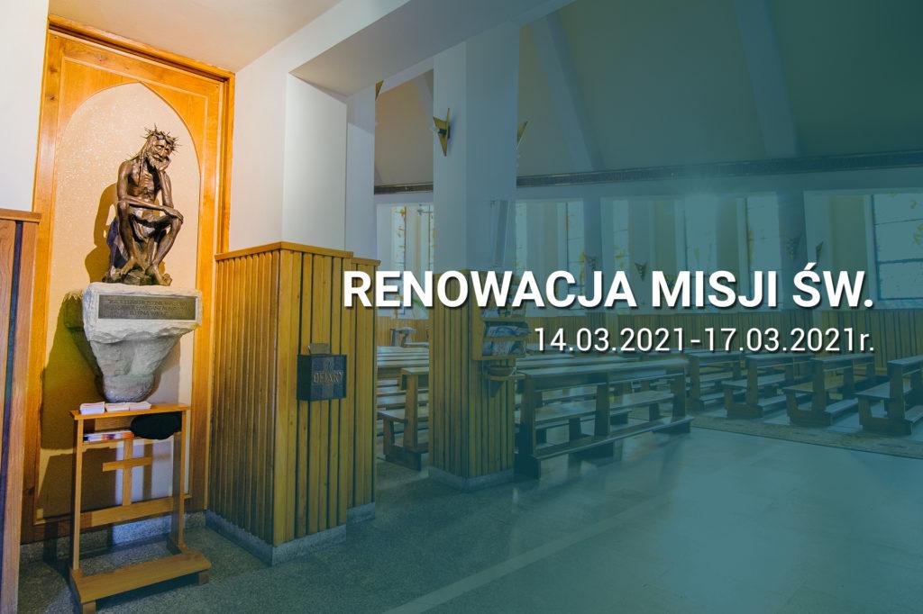 Renowacja Misji Św. – program