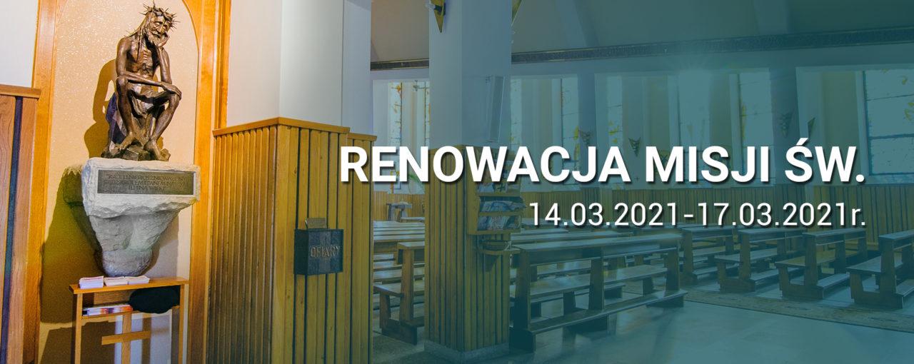 Renowacja Misji Św. - program
